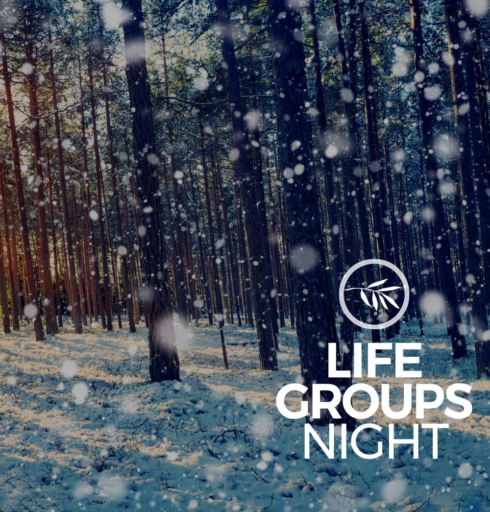 WEDNESDAY LifeGROUPS
