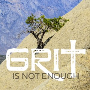 GRIT IS NOT ENOUGH